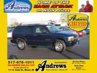 Andrews Certified Used 2003 Chevrolet Blazer LS 4x4