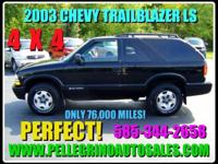 Options Included: N/ATHIS 2003 BLAZER LS 2 DOOR IS IN
