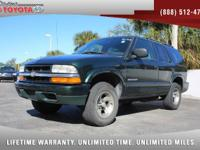 2003 Chevrolet Blazer LS V6, *** CLEAN VEHICLE HISTORY