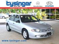 Ultra Silver Cavalier FWD, Check out the Clean CarFax!