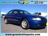 2003 Chevrolet Cavalier 4dr Car Our Location is: Grand