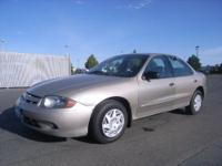 2003 Chevrolet Cavalier 4dr Sedan Base Base Our