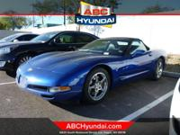 CARFAX One-Owner. Electron Blue Metallic 2003 Chevrolet