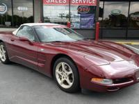 2003 Chevrolet Corvette Convertible! LOW FINANCING! 28K