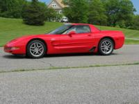 The Vehicle..........  2003 Chevrolet Corvette Z06