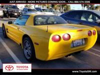 Options:  2003 Chevrolet Corvette Z06|Yellow|Clean
