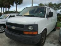 Description 2003 CHEVROLET Express Cargo Van Power