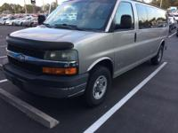 This 2003 15 Passenger Chevrolet Express Van G3500 in