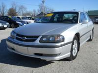 Options Included: N/A2003 Chevy Impala Silver LS, 3.8L
