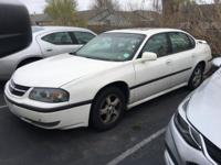 Excellent Condition. EPA 29 MPG Hwy/19 MPG City! White