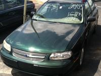 2003 Chevrolet Malibu -167k miles - Green - Price