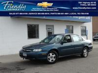 Good Runner. Malibu LS 3.1L V6 SFI 4-Speed Automatic