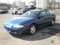 Options Included: N/A2003 CHEVROLET-MONTE CARLO,SS,2