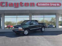 This 2003 Chevrolet S-10 2dr Ext Cab 123 WB 4WD LS