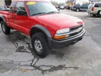 Options:  2003 Chevrolet S10 Pickup 4Wd Ext Cab