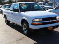 Recent Arrival! Clean CARFAX. This 2003 Chevrolet S-10