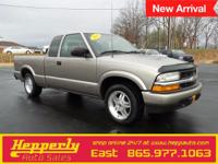 Clean CARFAX. This 2003 Chevrolet S-10 in Gold