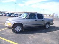 Options Included: N/AHard To Find Crew Cab S10 4x4!!!