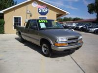 4CYL! POWER LOCKS! Check out this 2003 Chevrolet S10