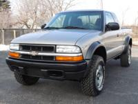 This is a very 2003 Chevrolet S-10 Extended Cab LS with