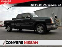 Come see this 2003 Chevrolet Silverado 1500 LS. Its