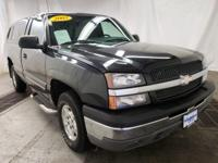 Black 2003 Chevrolet Silverado 1500 LS 4WD 4-Speed
