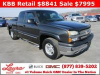 1-Owner New Vehicle Trade! LS 5.3 V8 Extended Cab 4x4.