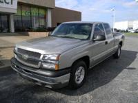 Options Included: N/AThis 2003 Chevrolet Silverado 1500
