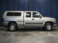 Clean Carfax One Owner 4x4 Truck with Canopy!  Options: