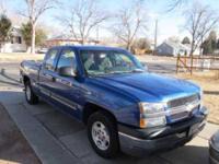 2003 Chevrolet Silverado in Excellent Condition Blue