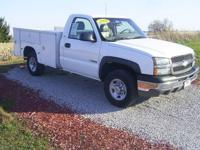 Options Included: Bumpers: Chrome, Driver Door Bin,