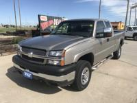 Come see this 2003 Chevrolet Silverado 2500HD LS. Its