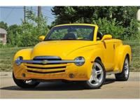 This 2003 Chevrolet SSR has travelled a scant 6,237