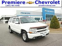 Options:  2003 Chevrolet Suburban White/ V8 5.3L