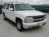 Options Included: N/A2003 Chevy Suburban LT, white with