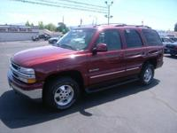 CARFAX 1-Owner. Tahoe Special Service Veh trim. Dual