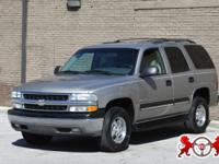 Options Included: N/A2003 CHEVROLET TAHOE 1500 WITH