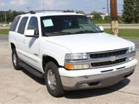 Options Included: N/ABeautiful 2003 Tahoe, White, Fully