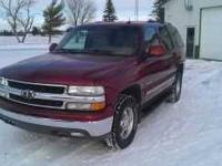 2003 Chevrolet Tahoe LT SUV 4x4 This 2003 Chevrolet