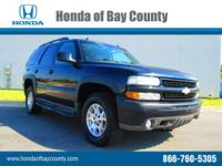 Honda of Bay County presents this 2003 CHEVROLET TAHOE