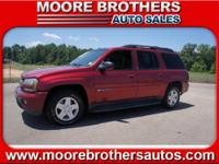 OUR 2003 CHEVY TRAILBLAZER OFFERS 3RD ROW LEATHER