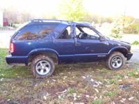 2003 Chevy Blazer, 2wd 4.3 auto, 82000 miles. Runs and