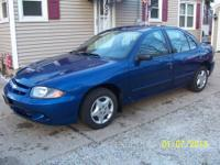 2003 chevy cavalier, 2.2 liter, automatic, 4 door,