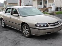 We have up for sale a 2003 Chevrolet Impala, with only
