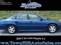 2003 Chevrolet Impala LS 3.8 V6 Engine, Auto