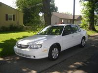 2003 Chevy Malibu 4 door sedan in great condition V6