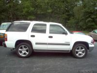 2003 CHEVY TAHOE 4X4, 4-DOOR, NO 3rd SEAT, 5.3 V8