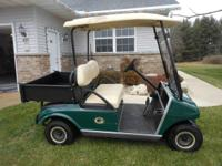 Here is a 2003 Club Car in very nice condition always