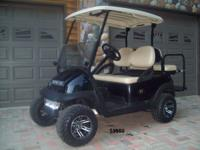 2003 Club Car Precedents with 2008 batteries and