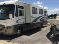 2003 coachman aurora 33ft class a motorhome all